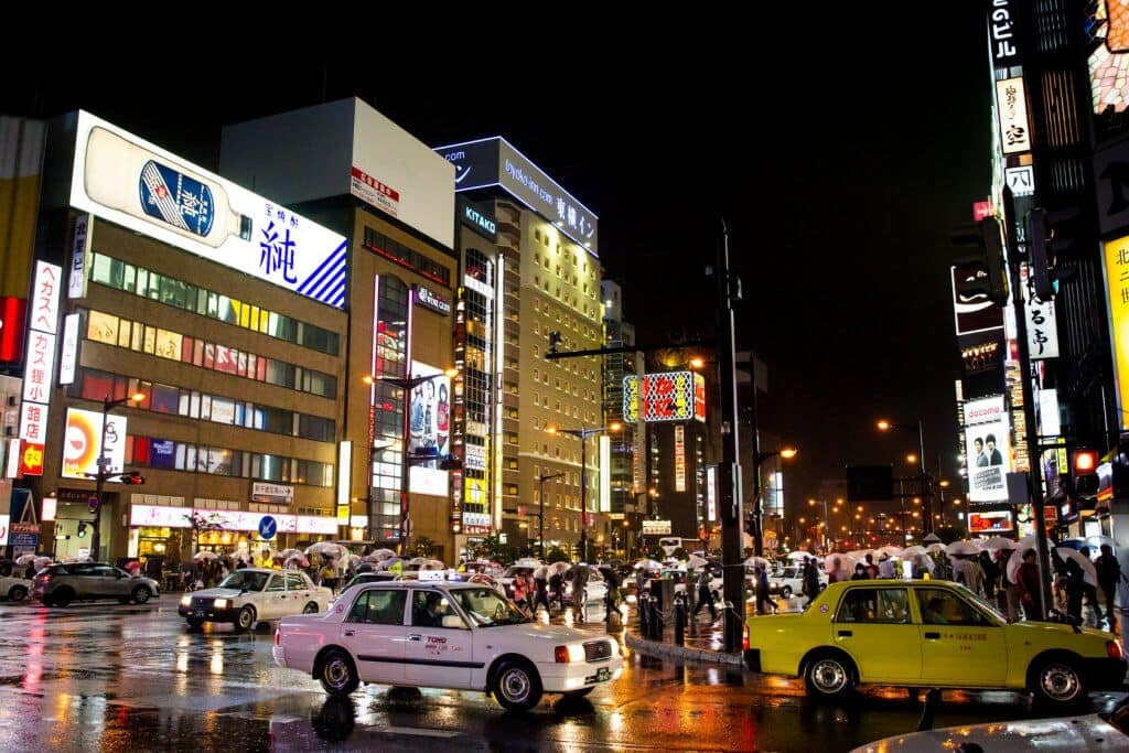 Things to Do in Sapporo Taxis