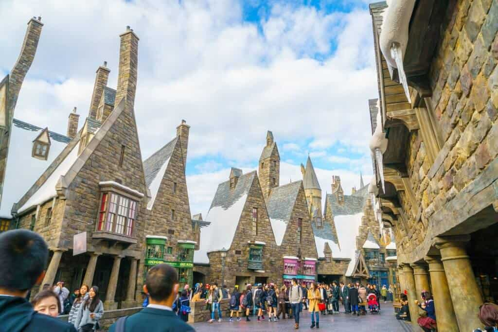 Universal Studios Japan - Harry Potter Town