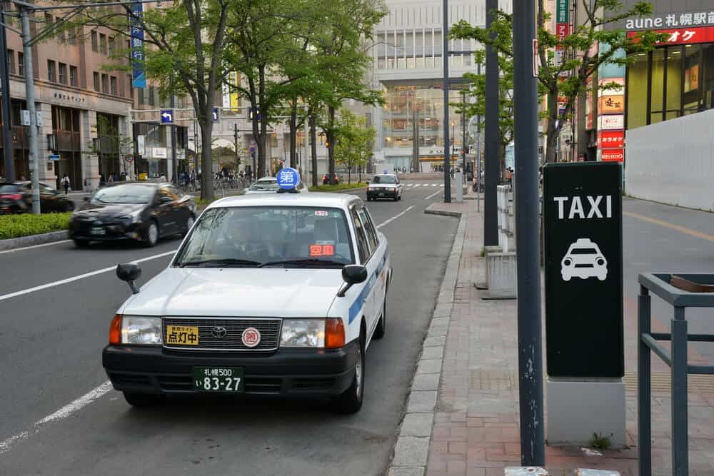 What to do in Sapporo Getting Around by Taxi