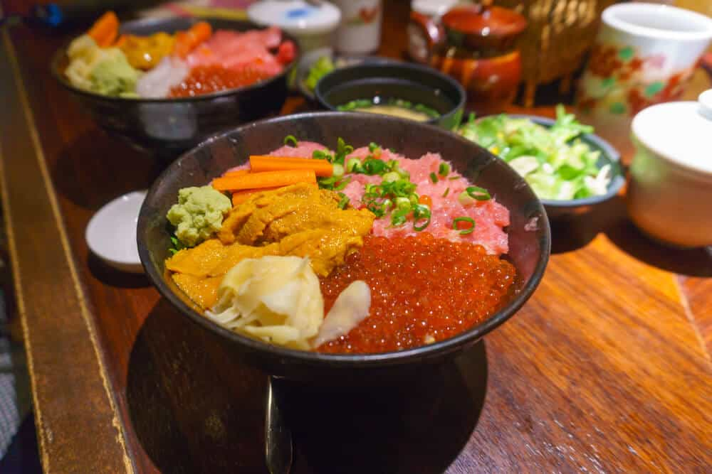 What to do in Sapporo Kaisen Don Seafood
