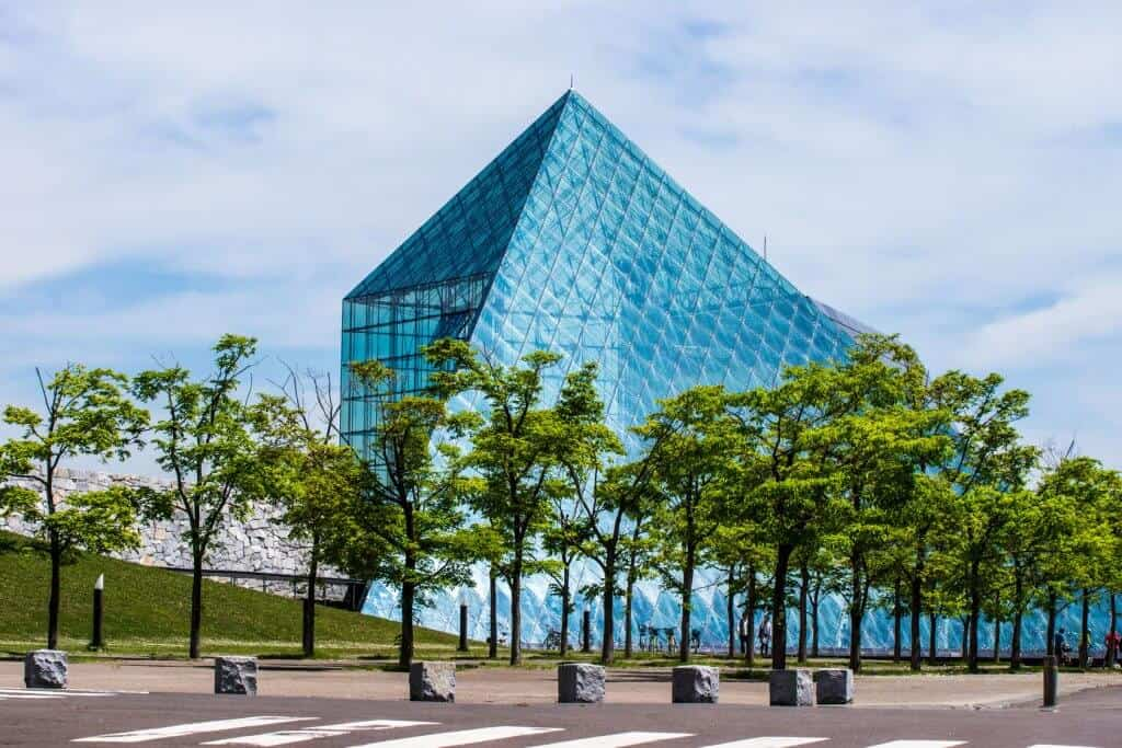 What to do in Sapporo Moerenuma Park Glass Pyramid