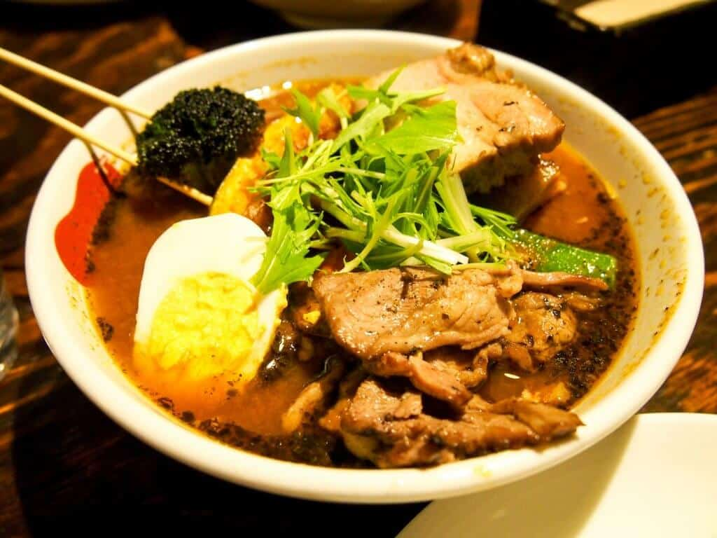 What to do in Sapporo Soup Curry