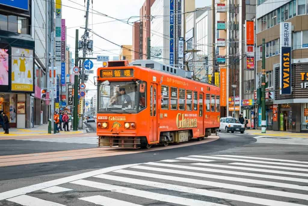 What to do in Sapporo Streetcar Tram