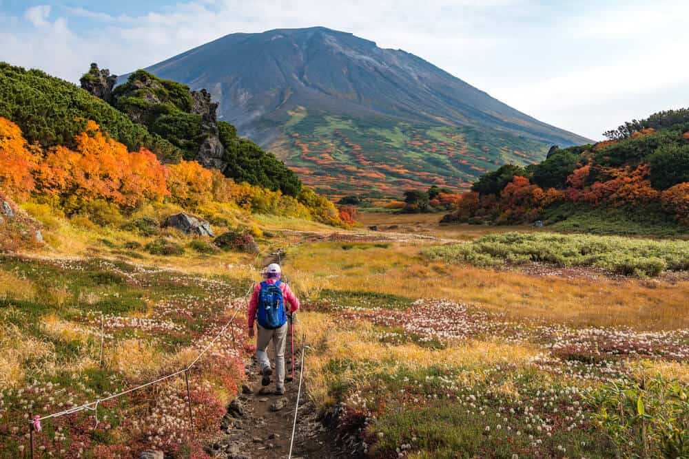 Asahidake Hiking Trail
