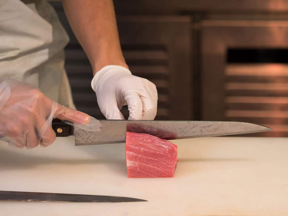 Best Japanese Knives Cutting Fish