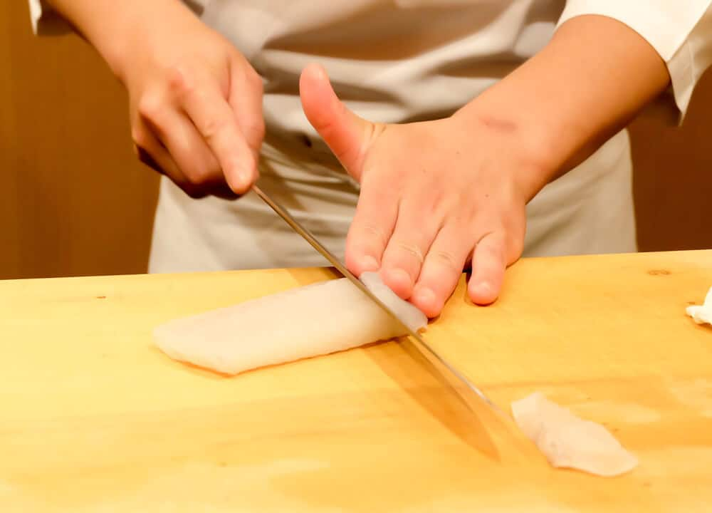 Best Japanese Knives Sashimi