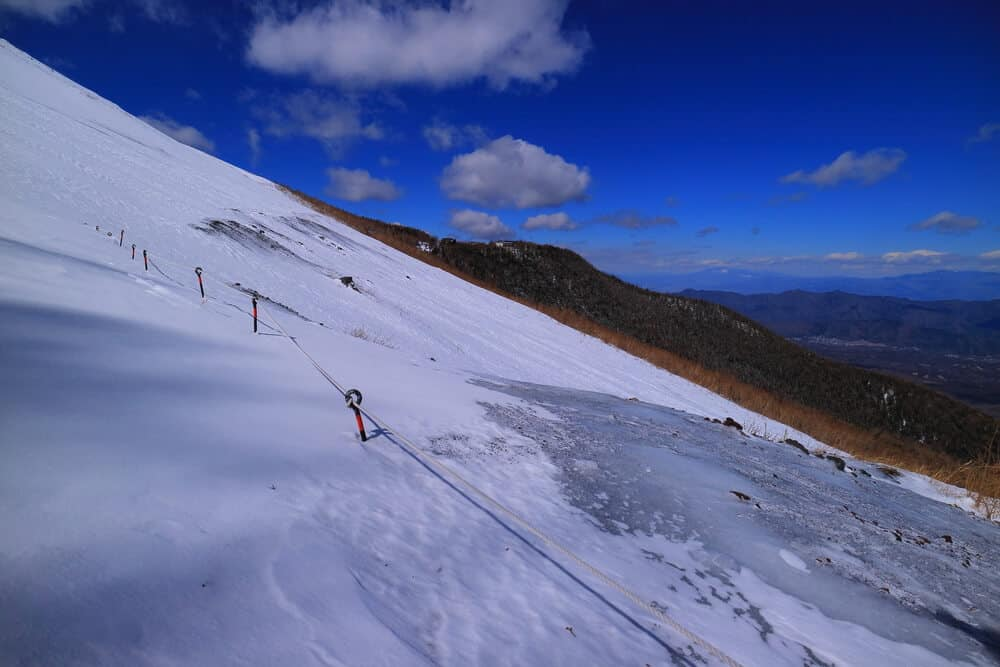 Mt. Fuji Snow Winter