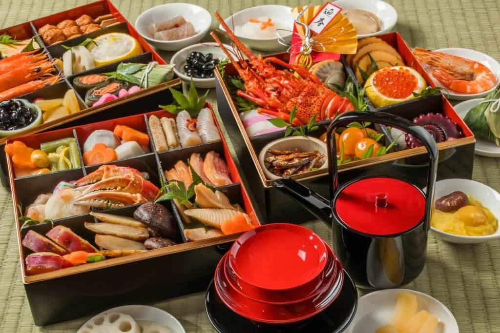 New Years in Japan Osechi Ryori