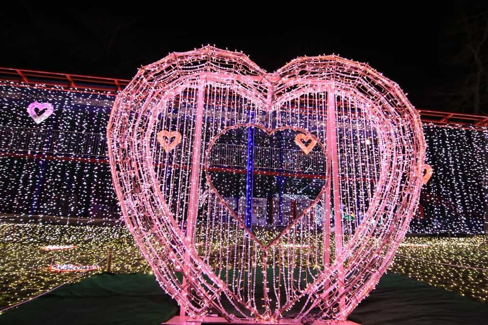 Sagamiko Illumination Japan Heart