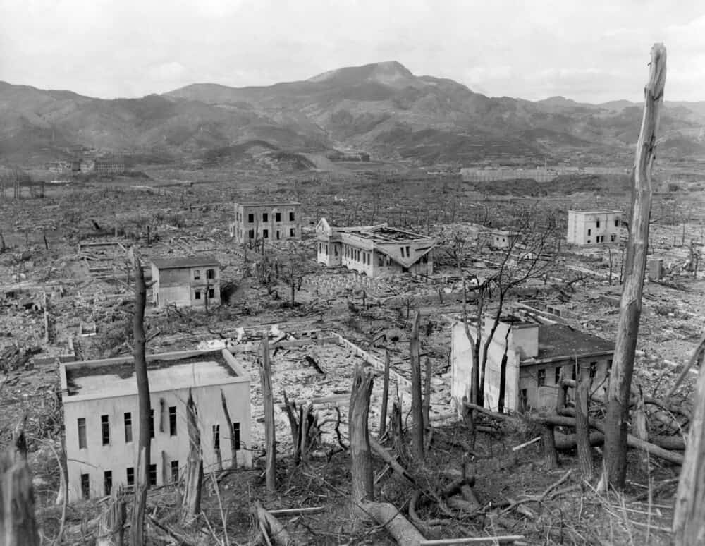 Nagasaki Atomic Bomb Aftermath