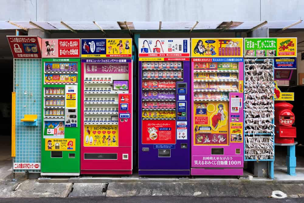 Nagasaki Lucky Charm Vending Machines