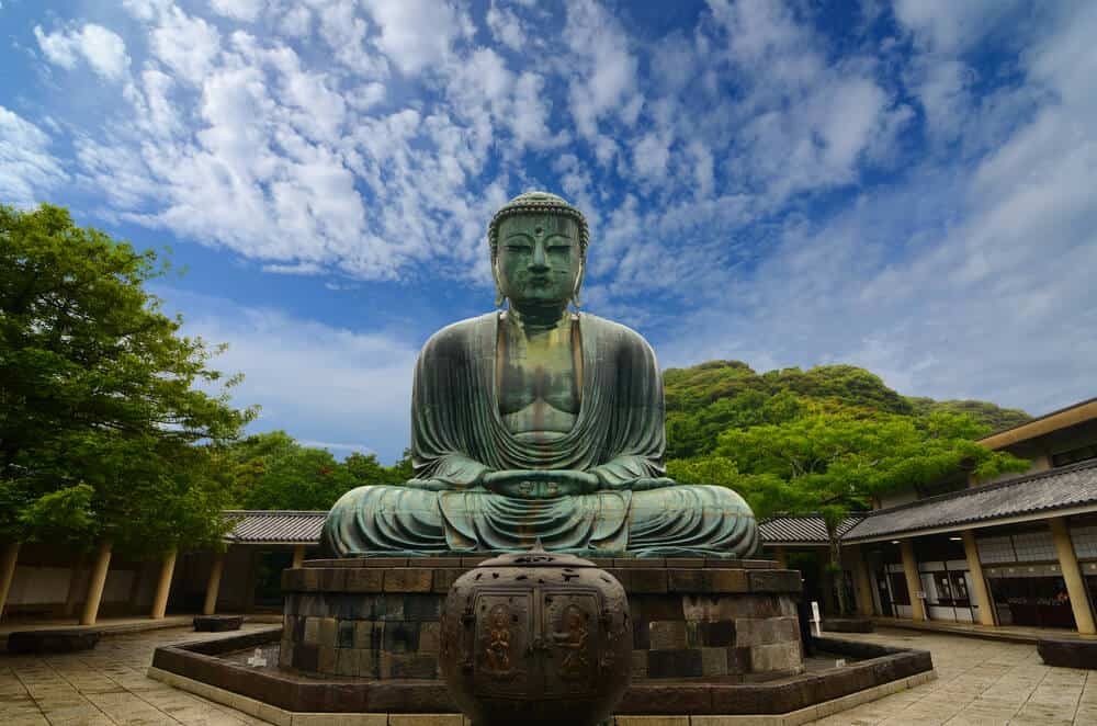 Buddha in Kamakura Japan