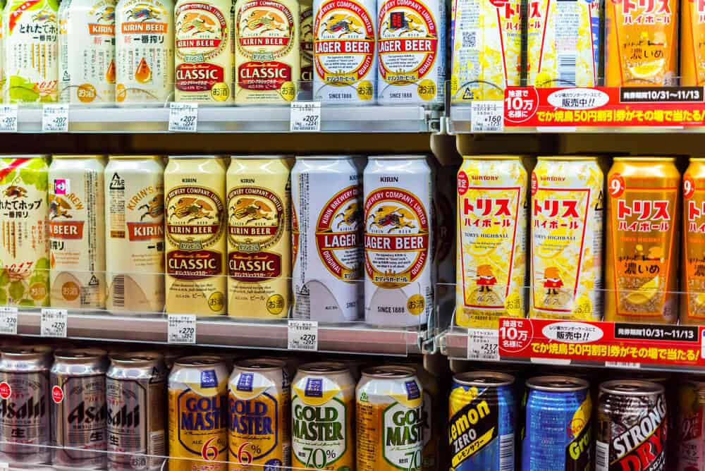 Drinking-in-Japan-Beer-Selection