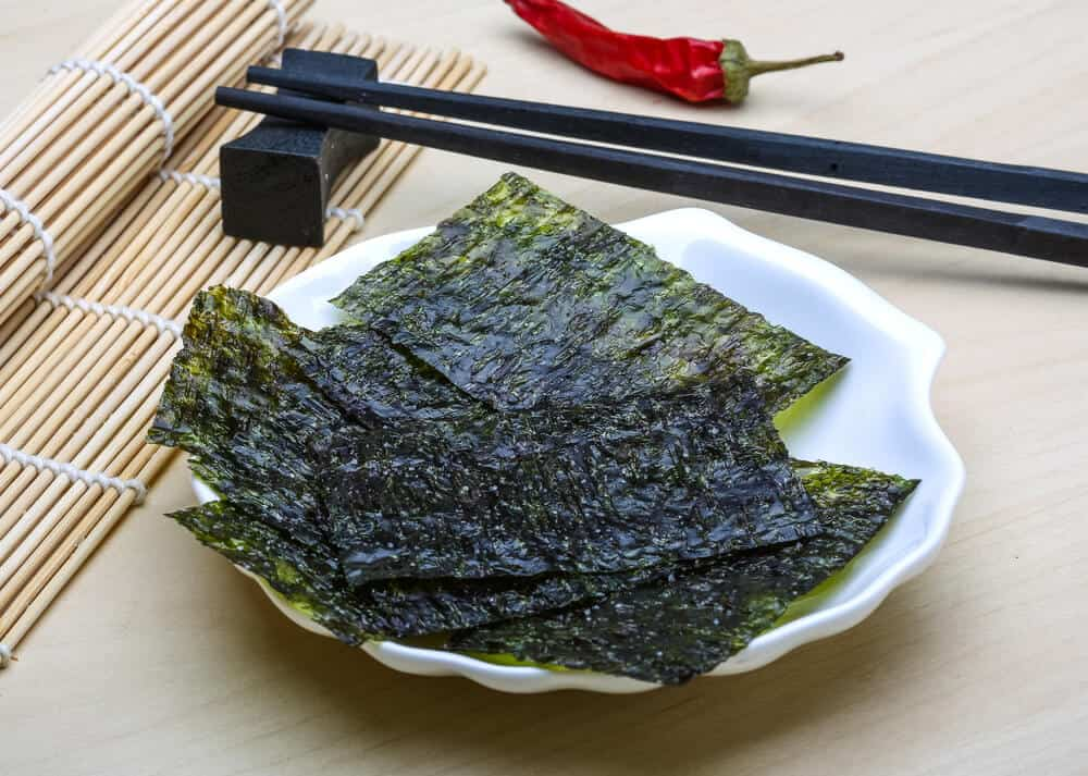 Healthy Japanese Habits - Nori