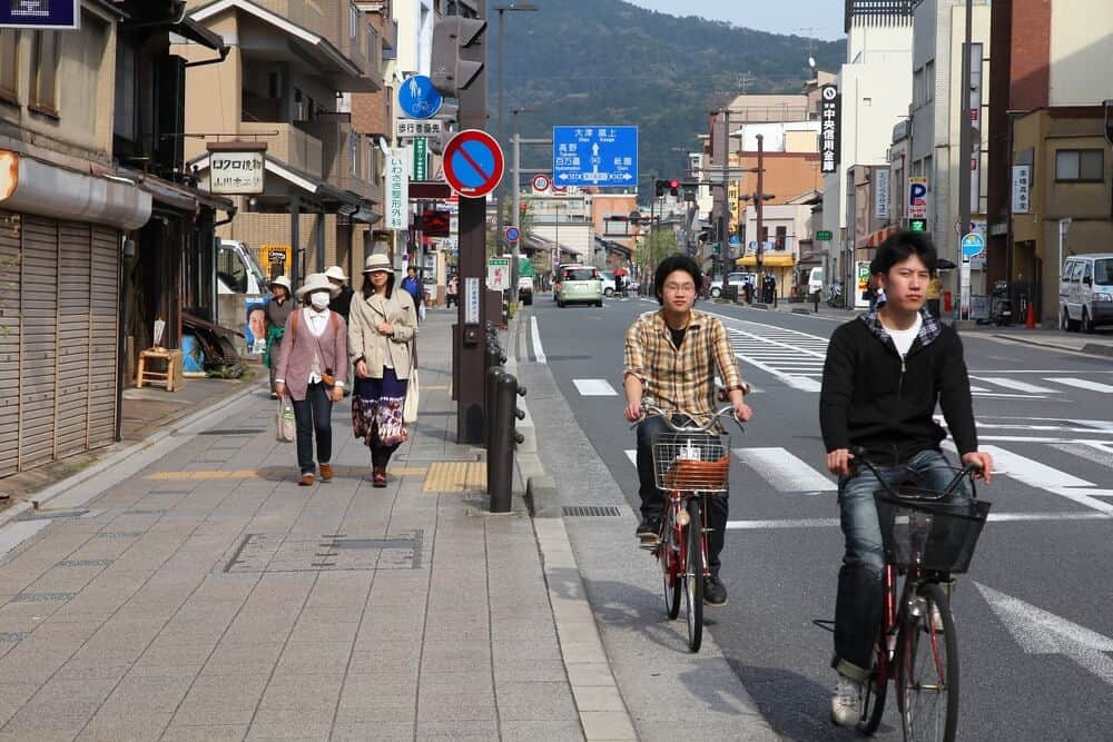 Healthy Japanese Habits - Riding Bicycles
