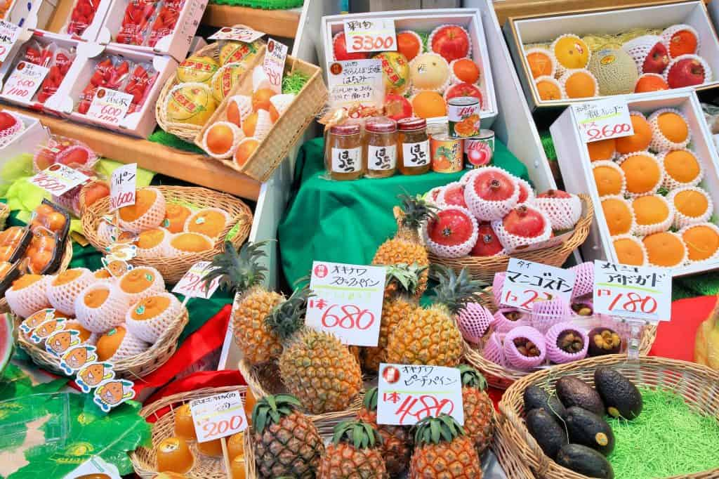 Kuromon Fruit Shop