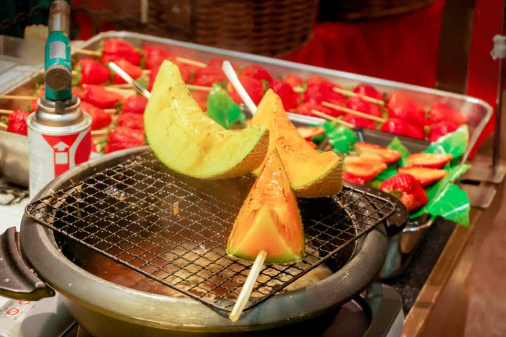 Kuromon Grilled Fruit