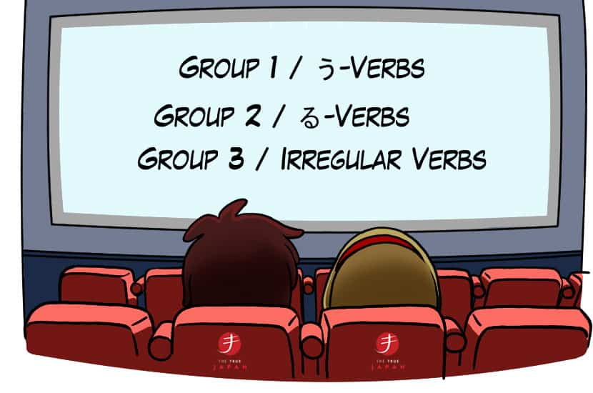 Japanese-Verb-Groups