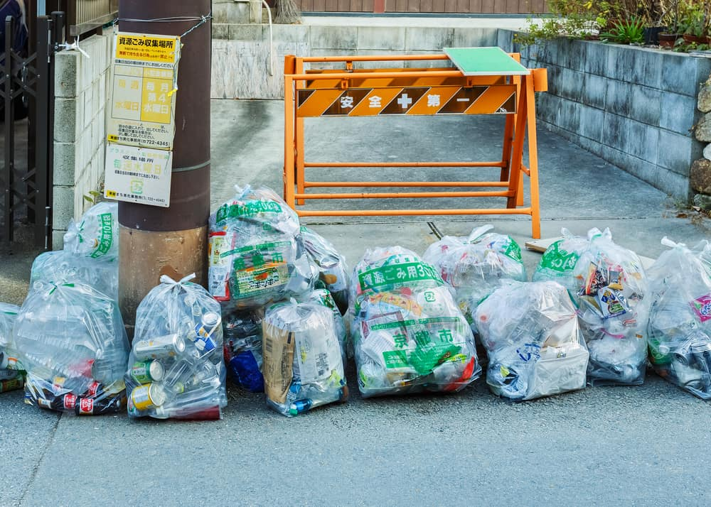 Throwing Stuff Away in Japan