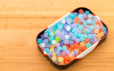 Japanese Candy Konpeito in a Nice Box