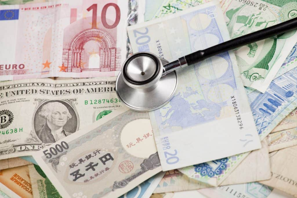 Paying your Doctor's Bill Currency